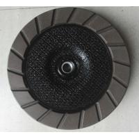 China 100 - 180 mm diameter Diamond  Ceramic  Bond  Egding Cup Wheel  For Concrete for sale