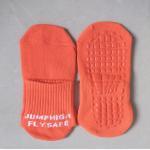 China New Arrivals Birthday celebrations jumping socks beans slipper socks trampoline bounce socks for sale