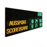 China Australia AFL Electronic Scoreboard With Led Name 1200MM X 3000MM X 100MM for sale