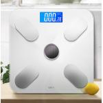 China Toughened Glass Electronic Bathroom Weighing Machine Lightweight For Home for sale