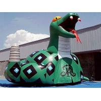 Inflatable Poison Snake Design Tunnel For Outdoor Business Promotion for sale
