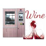 Wine beer bottle combo Vending Machine with Network LCD Advertising Display