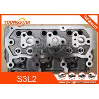 China S3L S3L2 Diesel Engine Cylinder Head For Mitsubishi Casting Iron Material for sale