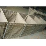 3mm Military Hesco Barriers / Hesco Bastion Barrier Gabion Mesh Box For Military for sale