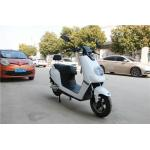 China White Color Sleek Design Electric Moped For Adults 1200W DC Brushless Motor for sale