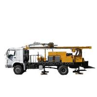 China 132 KW Air and Mud Dual - Purpose Water Well Truck Mounted Drill Rig for sale