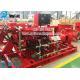 China UL / FM Certification NFPA 20 Standard Diesel Engine End Suction Fire Pump Set for sale