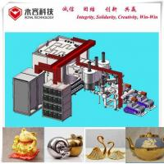 Vertical Vacuum Coating Equipment For Ceramic Kitchenware / Teapot for sale