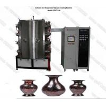Antique Vase PVD Ceramic Coating Equipment Glaze Porcelain ISO Standard for sale
