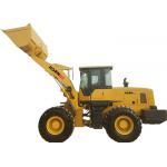 China Compact Articulated Wheel Loader Machine 640B 4 Ton Wheel Loaders ISO Approved for sale