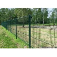 China Customized Welded Wire Panels / Steel Mesh Fencing Corrosion Resistance for sale
