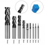Manufacturer Tool Solid Carbide 4Flute Cutting Tools CNC End Mill for sale
