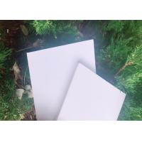 Polyvinyl Chloride Rigid Foam Board , Rigid Foam Pvc Sheet For Advertising Crafts for sale