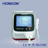 China Arms / Armpits / Chest 808Nm Diode Laser For Hair Removal with Sliding and Flash Mode for sale