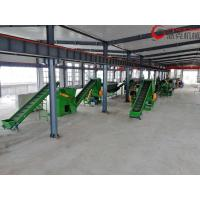 China Stainless Steel 304 PP PE Film Recycling Line , Film PET Recycling Plant for sale