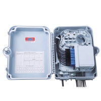 IP65 PC ABS 24cores ODF FTTH Network Termination Box