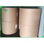 China 40gsm - 80gsm high strength uncoated White Sack Kraft for paper bags for sale