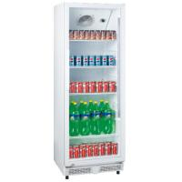 China 230L upright single door ABS inner direct cooling display beverage cooler/display freezer/beverage showcase for sale