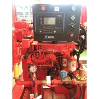 China UL Listed FM Approved Diesel Engine Driven Fire Fighting Pump 500 gpm @ 80 psi  with Jockey Pump Set for sale