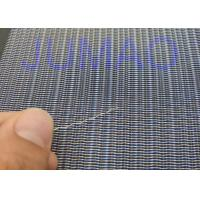 Impact Resistance And Fireproof Laminated Safty Glass Metal Wire Mesh Fabric for sale