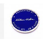 Custom Military Challenge Coins Silver Gold Plated Stamped Metal Challenge Coins for sale