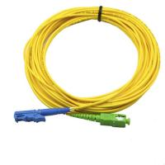 China Single Mode APC Patch Cord E2000 SX SM LSZH , SC UPC Simplex Fiber Optic Cable for sale