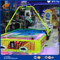 Indoor Amusement Machine Game Coin Operated Air Hockey Table For 4 Players for sale