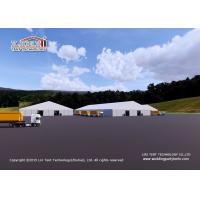 Aluminum Tents Used for Coal Storage / Bulk Storage / Industrial Production.
