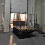 China Hydraulic Scissor Type 3000KG Elevating Dock Lift For Forklift for sale