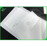 China Polypropylene Synthetic Paper Waterproof 180um 200um Food Grade Stone Paper Sheets for sale
