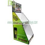 Light Duty Point Of Purchase Pos countertop Cardboard Display Articles For Daily Use cardboard counter display units for sale
