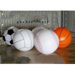 Giant Inflatable Football Basketball Sports Balloons Advertising Sport Ball for sale