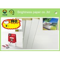 China Printable A4 Glossy Sticker Paper , Glossy Magazine Paper Customized Size for sale