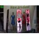 P3 Indoor Portable Full color poster Media LED Display , led mirror poster for sale