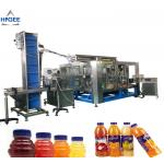 Juice filling machine with apple mango fruit processing plant aseptic small drink bottling with hot sealing packing mach