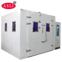High UV Radiation And Humidity UV Aging Test Chamber / Rack For Aging Laboratory for sale