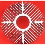 China Sunflower High Efficiency Extruded Aluminum Heatsink For Ceiling Light Radiator for sale