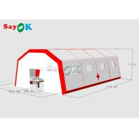 Fast Built Inflatable Field Hospital Medical Tent To Set Patients