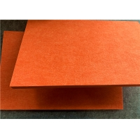 China INTERTEC 12mm High Density Polyester Fiber Acoustic Panel Anti Bacterial supplier