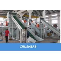 plastic pp pe film washing recycling machine line Free spare parts
