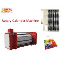 China Convenient Operation Oil Heating Roll To Roll Sublimation Machine Rotary Calander for sale