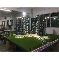 China Real Estate Maquette Miniature Building Models With Light  , Construction Architecture Model Kits for sale