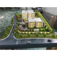 China 3d residence real estate model , miniature building model with trees material for sale