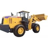China Front Loader Construction Equipment , Compact Articulating Loader 660B 6000kg Rated Load for sale