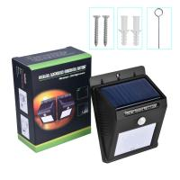 Solar Powered Lawn Lights With Motion Sensor , Dusk To Dawn Led Solar Powered Decking Lights for sale