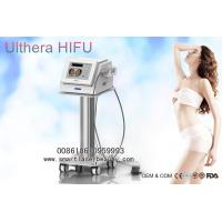China Focused Ultrasound HIFU Machine For Facial Lift , Wrinkle Removal , Fat Reduction for sale