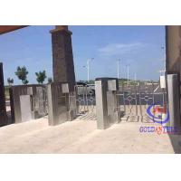 Non Touching Swing Barrier Gate Stainless Steel 35 Persons Per Min Running Rate for sale