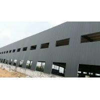Hot-sales White Color Poultry Farm Steel Structure With Steel Sheets Cladding for sale