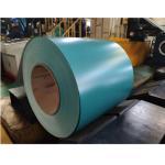 JIS G3312 Standard Ppgi Steel Coil White , Red , Blue Color 1219 Mm Width for sale