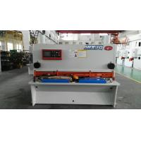 Hydraulic Drive H13 / D2 Balde NC Guillotine Shear For Thick Steel Cutting for sale